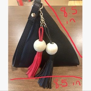 Evolving Always Bags - Black Pyramid  Wristlet Mini Bag New